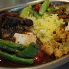 7月1日(水)ランチは野菜カレー